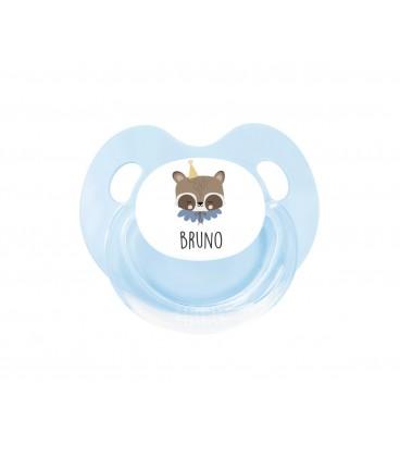 Chupete Personalizado Retro Circus Raccoon Eef Lillemor