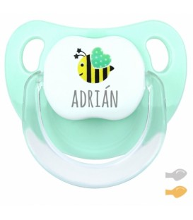 Chupete Baby Deco Abeja Mint