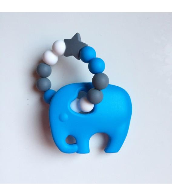 Mordedor Elefante azul