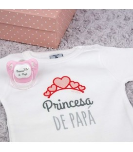 Cajita Divertida Princesa de Papá Rosa