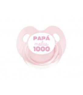 Chupete Retro Azul Papá Molas 1000