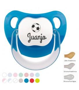 Chupete Baby Personalizado Nombre + Balón