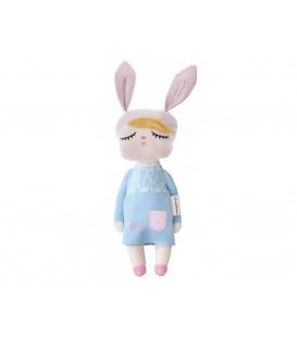 Muñeca Personalizada Little Bunny Azul 42cm