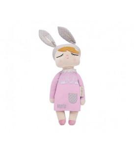 Muñeca Personalizada Little Bunny Gris 42cm