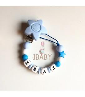 Chupetero Babyborn Azul