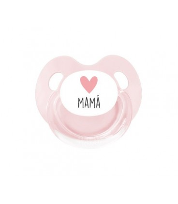 Chupete Retro Corazón Mamá