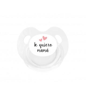 Chupete Retro Blanco Te quiero mamá