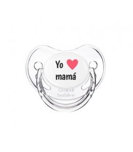 Chupete Canpol Yo Corazón Mamá Transparente