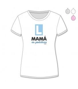 Camiseta Divertida Mamá en prácticas