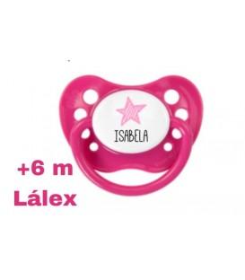 "Chupete Nip Pink Star ""Isabela"""