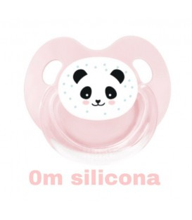 Chupete Panda rosa