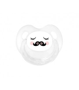Chupete Retro Carita Moustache