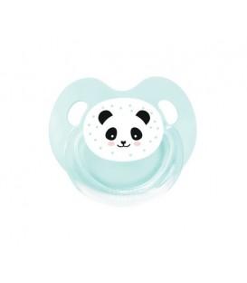 Chupete Retro Aqua Panda