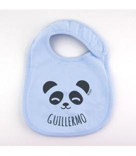 Babero Personalizado + Oso Panda